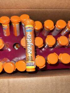 30 Count Zipfizz Orange Healthy Energy Tubes (100mg Natural Caffeine) 11/21 B9