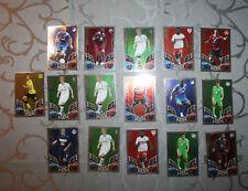16 Match Attax Karten (Star-Spieler/Top-Transfer) aus der Saison 2011/2012