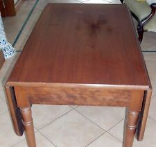 GENUINE ANTIQUE VICTORIAN DROP SIDE MAHOGANY DINING TABLE EXCELLENT CONDITION