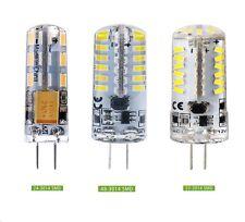 Lampadina lampada silicone compatta  5W 6W 7W 12V 24V G4 calda solare fredda COB