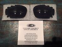 New Oakley Jawbone/Racing Jacket Grey Vented Lens Set