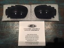New Oakley Jawbone/Racing Jacket Grey Vented Lens Set