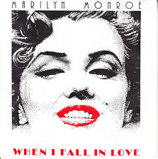 """MARILYN MONROE  When I Fall In Love PICTURE SLEEVE 7"""" 45 rpm vinyl record NEW"""