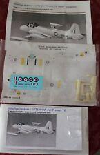 1/72 Hamilton Hobbies RAAF Jet Provost T2 Conversion set with decals