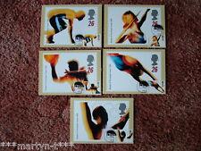Schede PHQ IED ANTERIORE N. 180 più tempestivo superiore più forte, 1996 5 carte. ottime condizioni