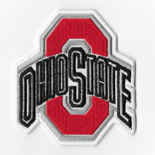 NCAA Ohio State Buckeyes Iron on Patches Embroidered Badge Patch Applique Sew