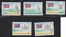(AUP-154) 1980 Cocas Keeling Islands 5set 25th anniversary of the treaty