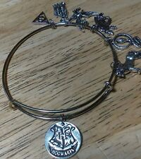 Hogwarts From Harry Potter Themed Wire Expandable Bracelet