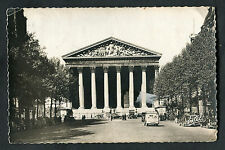 Posted 1947: Cars & People, Madeleine Church, Paris