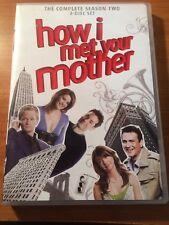 How I Met Your Mother Season 2 (DVD, 3 discs) ...pm41