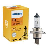 H4 12V 60/55W P43t-38 Vision +30% 1st. Philips