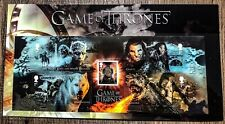 Game of Thrones Royal Mail Stamp First Day Cover Souvenir Collector Us Seller