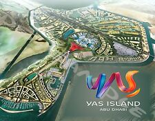 UAE - Abu Dhabi - YAS ISLAND - Travel Souvenir Flexible Fridge Magnet