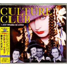 MAXI CD CULTURE CLUBI Just Wanna Be Loved 1998 Japanese 3-track jewel case