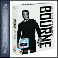 THE BOURNE COLLECTION - ULTIMATE 5 MOVIE COLLECTION  **BRAND NEW DVD BOXSET*