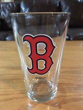mint used Boston Red Sox pint glass barware pub brewerania Budweiser