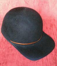VINTAGE berretto con visiera Barbisio taglia 56 M colore blu notte coppola 59728c5a82a5