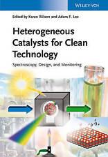 Catalizzatori eterogenei per tecnologia pulita: Spettroscopia, design e monitor.