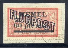 MEMEL 1921 (6 Jul.) Airmail overprint  on 60 Pf. on 40 C. Type I on white paper