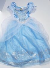 Disney Store Cinderella Princess Girl Deluxe Gown Dress Up Costume Pretend 7 8 M