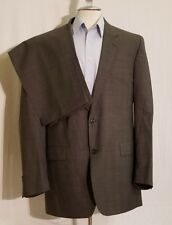 JOS A BANK Glen Plaid Wool Suit Jacket Sport Coat Pants 39 x 30 1/2 44L J108