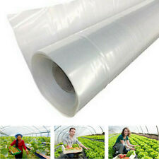 UK_ KQ_ Clear Plastic Greenhouse Film Thickness Cover Plastic Covering Sheet Lat