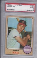 1968 O-Pee-Chee #121 Jimmie Hall PSA 9 MINT