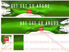 1/76 Code3 Argos Decals For Oxford diecast Box Trailer
