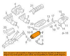 VOLVO OEM 07-14 XC90 3.2L-L6-Muffler 31355312