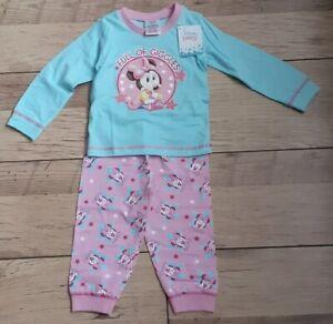 Disney - Minnie Mouse - Children's PJs - 12-18 Months - Brand New