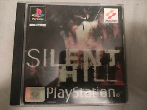 Silent hill ps1 PlayStation Psone PSX Pal España Completo Black Label