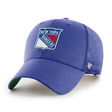 NHL New York Rangers Cap Basecap Baseballcap Branson Trucker blau 194602355634