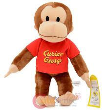 "Curious George Plush Doll  Soft Stuffed Doll 13"" Medium"