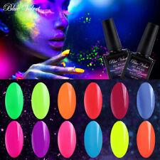 Blue Velvet Neón Gel Nail Polish Brillan En La Oscuridad Barniz De Gel UV LED iluminación nocturna