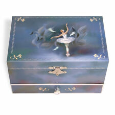 Swan Lake Bébés Boîte à Bijoux Musicale Embobiner Bibelot Music Box Nouveau UK