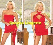 Sexy versatile 2-in-1 clubwear cocktail mini dress Dreamgirl