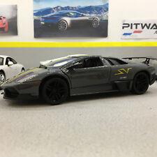 Lamborghini Murcielago LP 670-4 SV Grey 1:24 Die-Cast Model Car