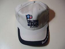 Valero Texas Open: cloth strap metal buckle adjustable hat/ball cap, NEW