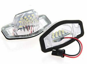 LED SMD Kennzeichenbeleuchtung Kennzeichen Lampe Weiß 6000K L für HONDA W5W A534