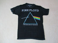 Pink Floyd Dark Side Of The Moon Concert Shirt Adult Small Black White Thin Mens
