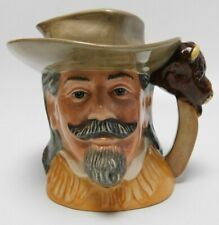 "Royal Doulton 'Buffalo Bill' D6735 1984 Toby Character Jug 5.5"" Wild West"