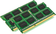 Kingston ValueRAM 16GB 2X8GB Dual Channel DDR3 1600MHz PC3-12800 SO-DIMM Laptop