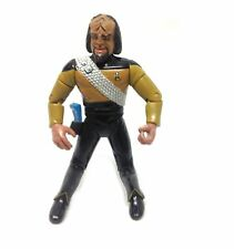 "Vintage STAR TREK Movie 5"" WORF KLINGON action figure by Playmates"