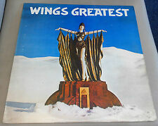 Wings Greatest Excellent Vinyl Record LP PCTC 256 with Poster