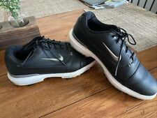NIKE AIR ZOOM VICTORY PRO GOLF SHOES MENS SIZE 8.5 BLACK WHITE SILVER AR5577-001