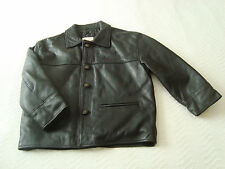 *SALE* - KIDS' CHILDREN'S REAL LEATHER  JACKET SIZE 6 YEARS - #3008