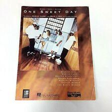 One Sweet Day Mariah Carey Boyz II Men 1995 Sheet Music Vocal Piano