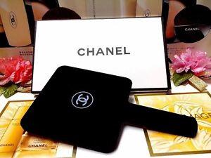 Chanel Beauty Gift Mirror Black Matte Finish ~ Large Size 22 x 12 cm GWP  w/ BOX