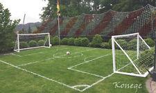 Profi Ballfangnetz 1-farbig, versch. Größen u. Farben, Fangnetz, Netz, Sondergr.