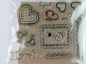 Love Themed Cling Rubber Crafting Stamps  S258